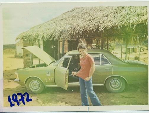 Na Estrada de cuiaba 1972 eu era assim