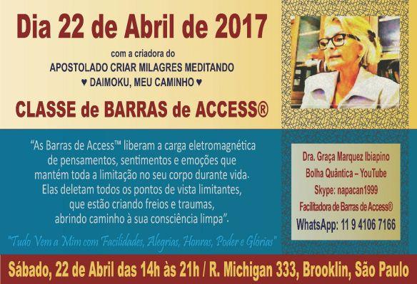 CLASSE DE BARRAS 2017 AZUL