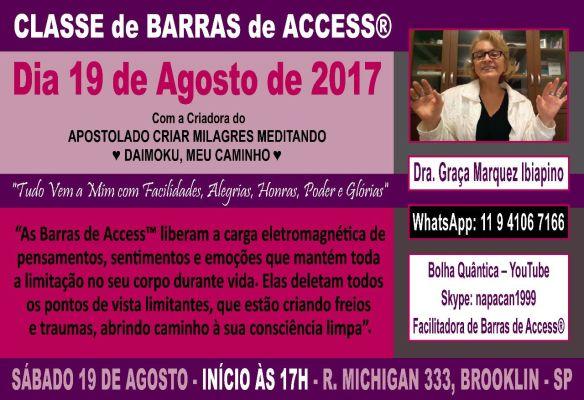 CLASSE DE BARRAS 19 DE AGOSTO 2017