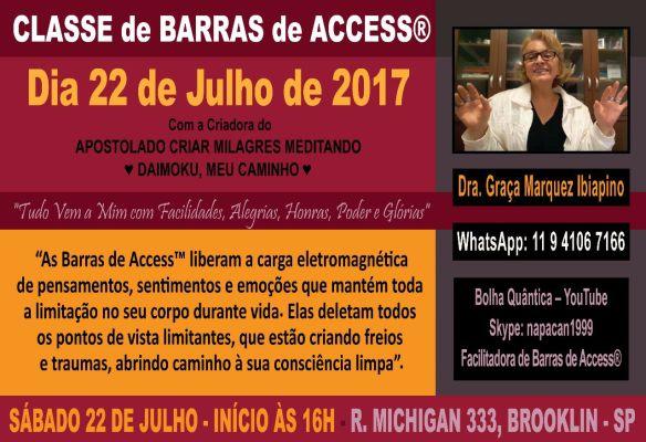 CLASSE DE BARRAS 22 DE JULHO 16H